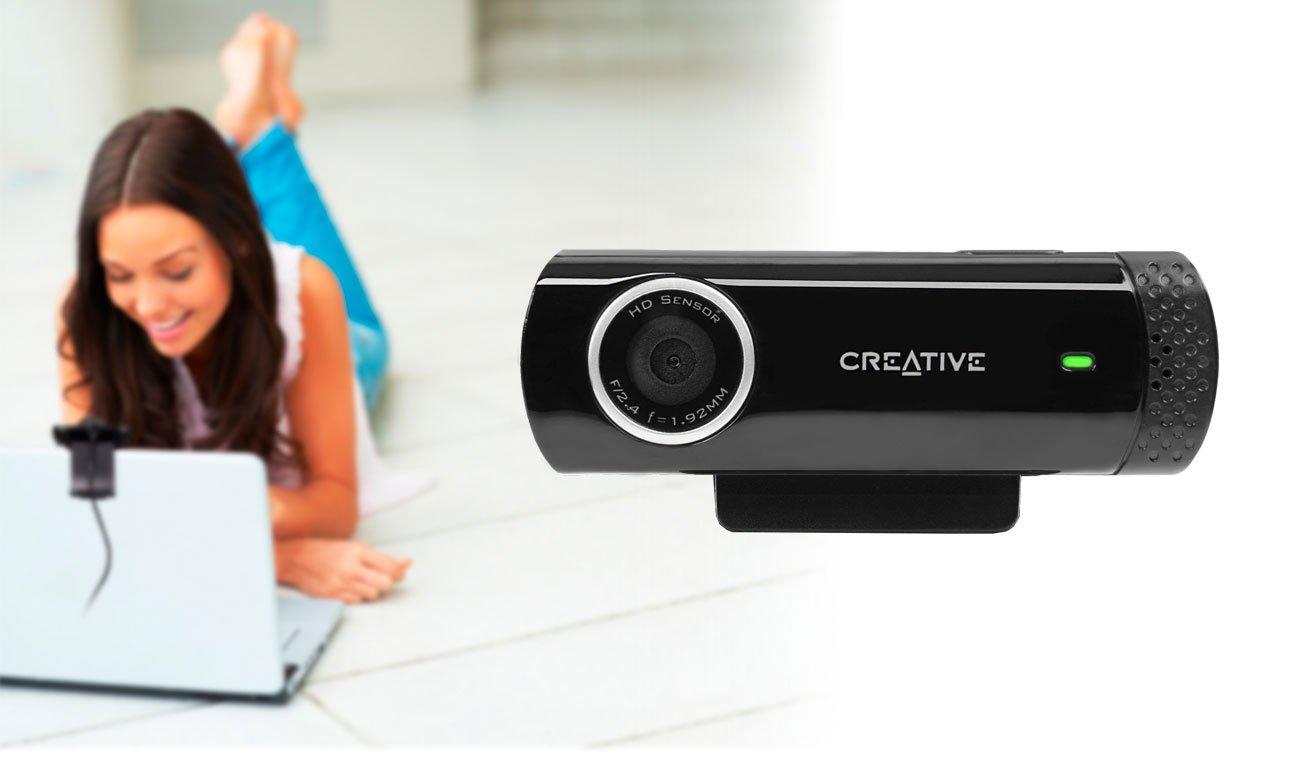 Creative Live! Cam Chat HD mocowanie