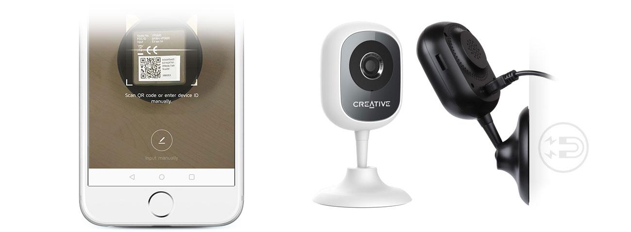 Kamera Creative Live! Cam IP Instalacja