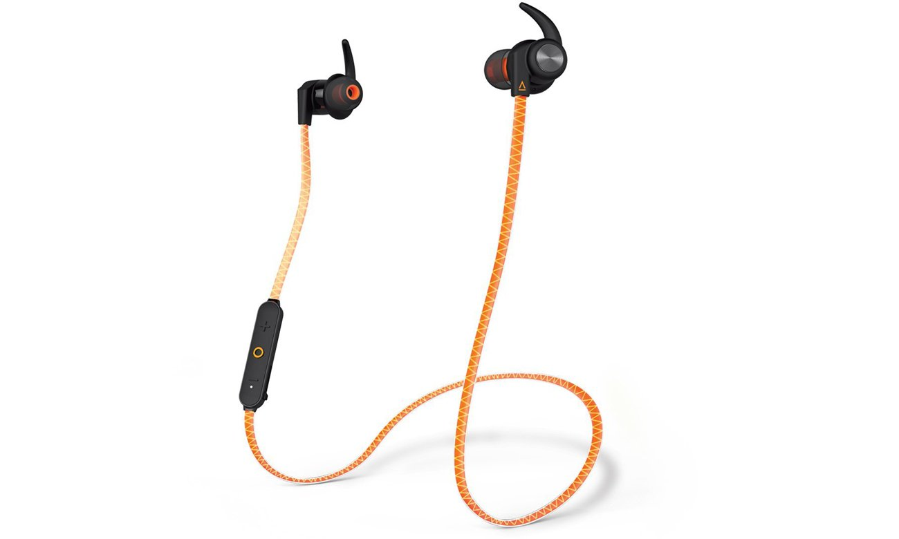 Słuchawki Creative Outlier Sports pomarańczowe