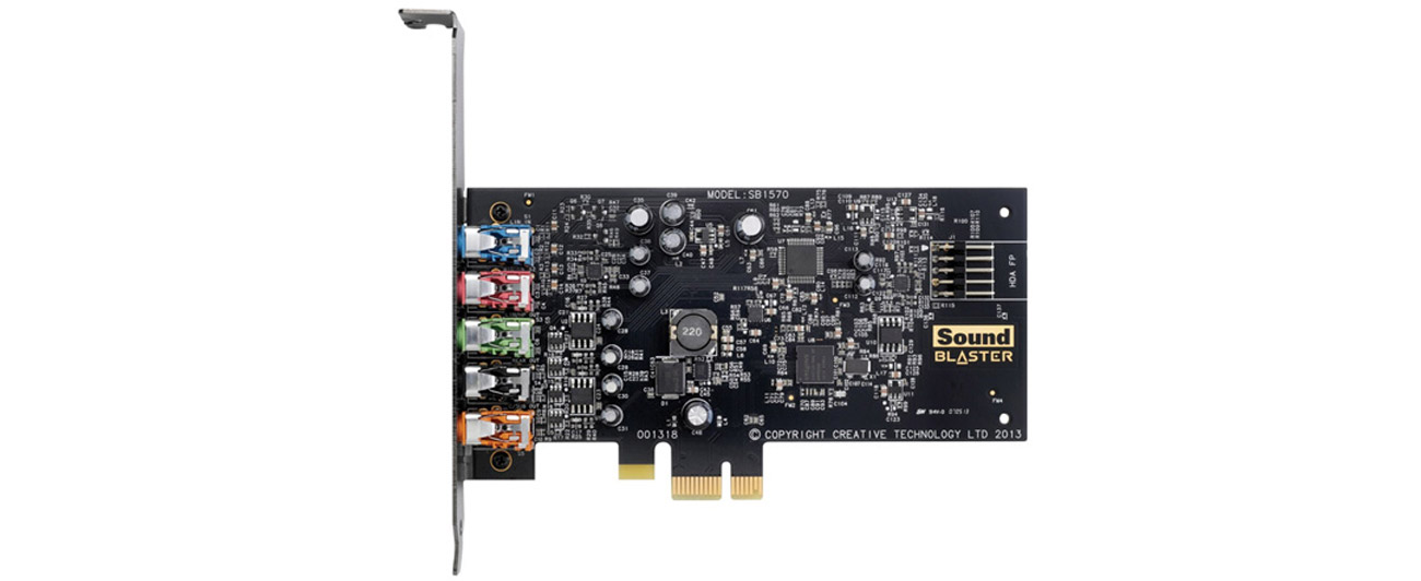 Karta muzyczna Creative Sound Blaster Audigy FX PCI-E