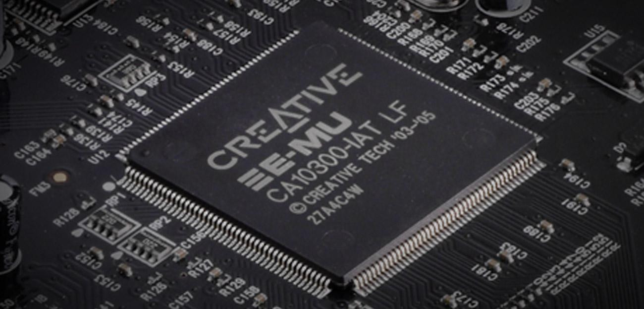 Karta muzyczna Creative Sound Blaster Audigy RX PCI-E układ e-mu