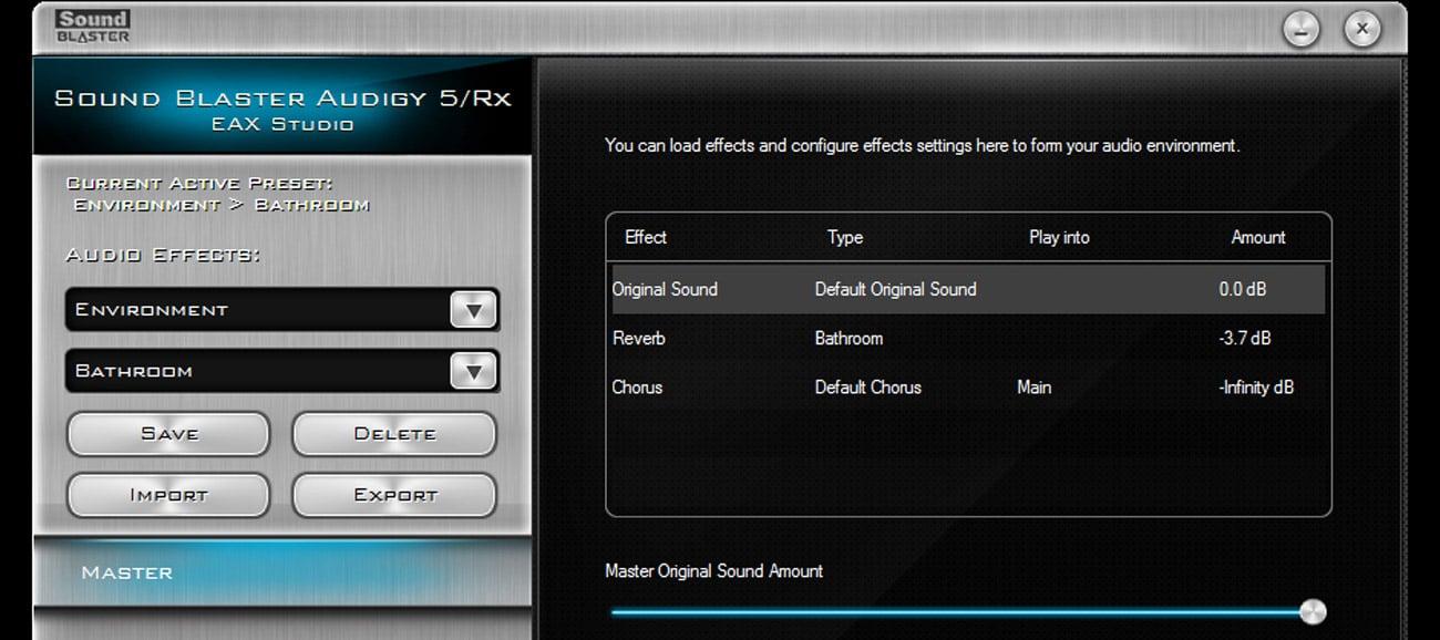 Karta muzyczna Creative Sound Blaster Audigy RX PCI-E EAX