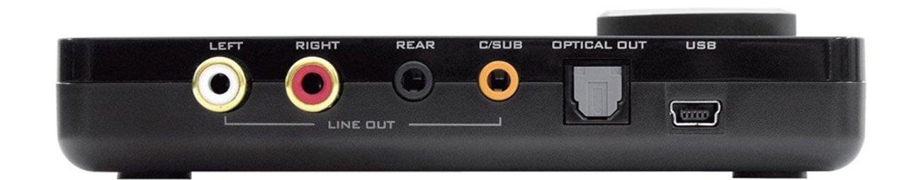 Karta muzyczna Creative Sound Blaster X-Fi Surround 5.1 Pro wysoka jakosc zlacze