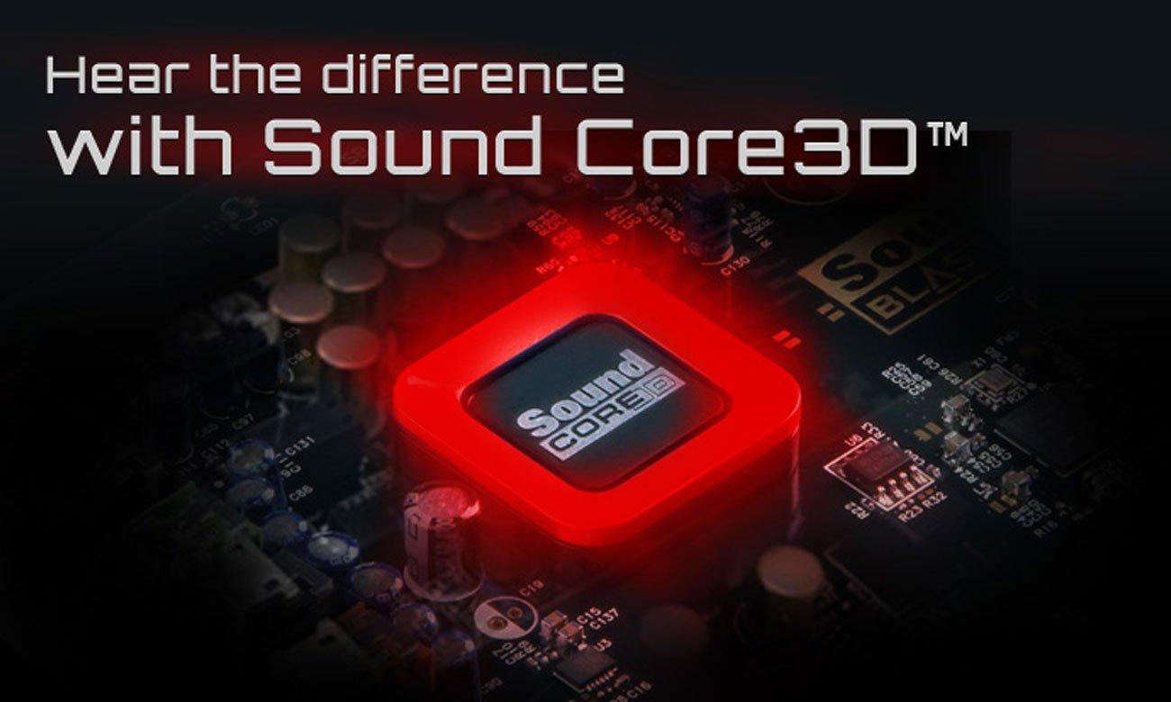 Karta muzyczna Creative Sound Blaster ZXR PCI-E czterordzeniowy procesor
