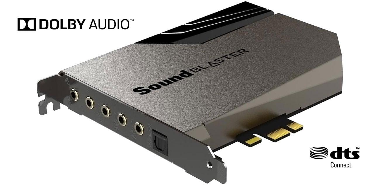 Creative Sound Blaster AE-7 - Dźwięk przestrzenny