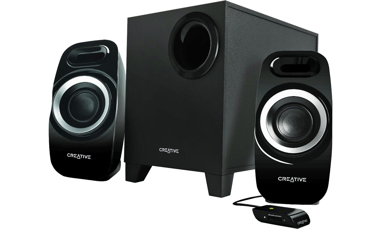 Głośniki komputerowe Creative 2.1 T3300