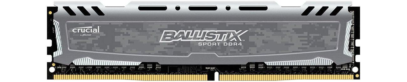 Crucial 16GB 2666MHz Ballistix Sport LT Gray CL16  BLS16G4D26BFSB