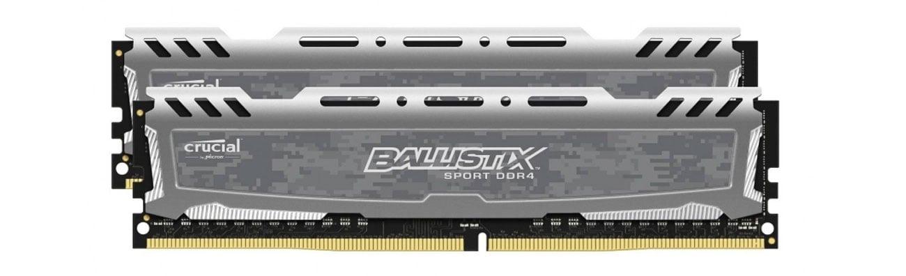 Pamięć RAM DDR4 Crucial 16GB 2666MHz Ballistix Sport CL16 (2x8GB)