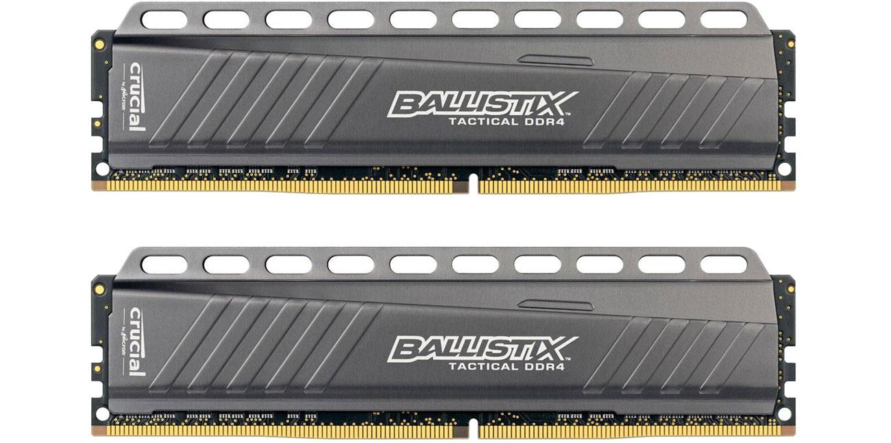 RAM DDR4 Crucial 16GB 3000MHz Ballistix Tactical CL15 (2x8GB) BLT2C8G4D30AETA