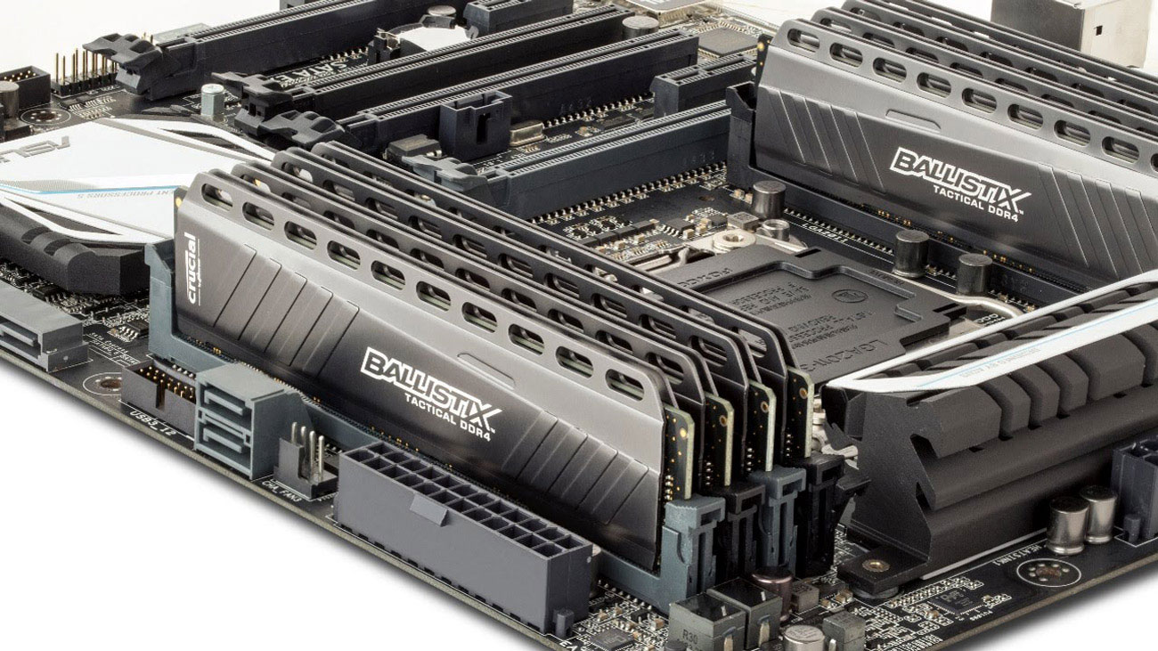 Crucial Ballistix Tactical Radiatory PCB, Intel XMP