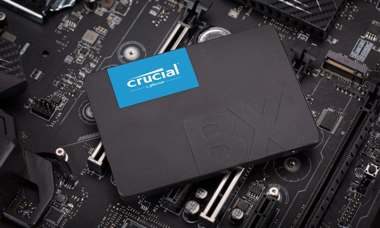 Crucial BX500 Technologia i wydajność