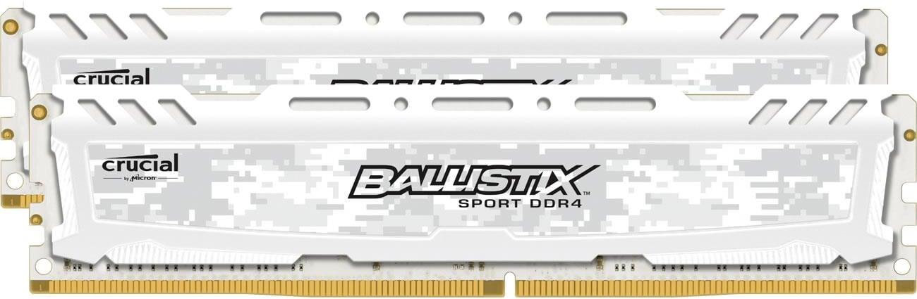 Crucial 16GB 2666MHz Ballistix Sport White BLS2C8G4D26BFSC