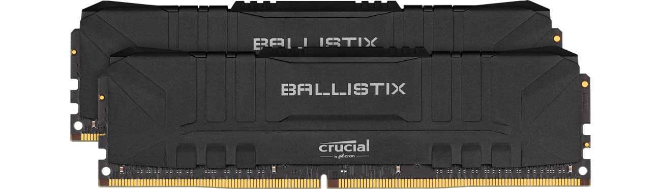 Pamięć RAM DDR4 Crucial 16GB (2x8GB) 3200MHz CL16 Ballistix Black BL2K8G32C16U4B