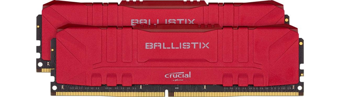 Pamięć RAM DDR4 Crucial 16GB (2x8GB) 3000MHz CL15 Ballistix Red BL2K8G30C15U4R