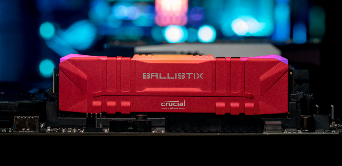 Crucial Ballistix Red - Radiator