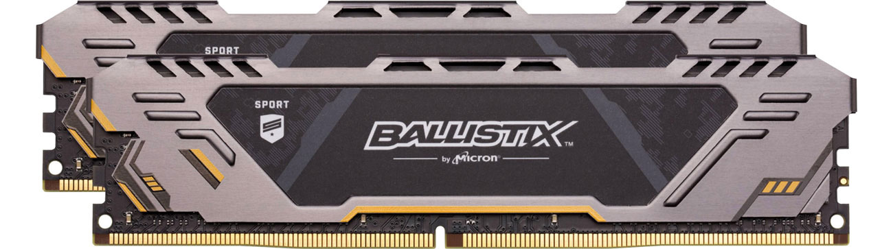Pamięć RAM DDR4 Crucial 16GB Ballistix Sport AT 2666MHz Ballistix Sport AT CL16 2x8GB BLS2K8G4D26BFSTK