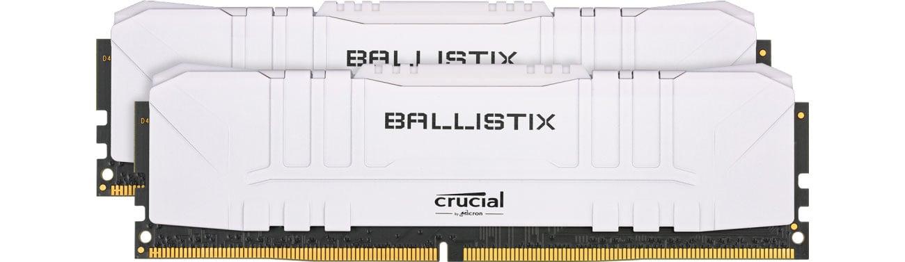 Pamięć RAM DDR4 Crucial 32GB (2x16GB) 3200MHz CL16 Ballistix White BL2K16G32C16U4W