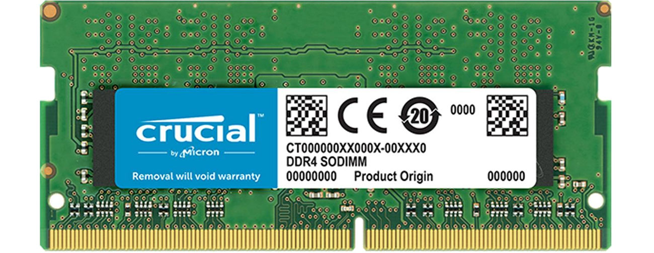 Pamięć RAM SODIMM DDR4 Crucial CT8G4SFS824A
