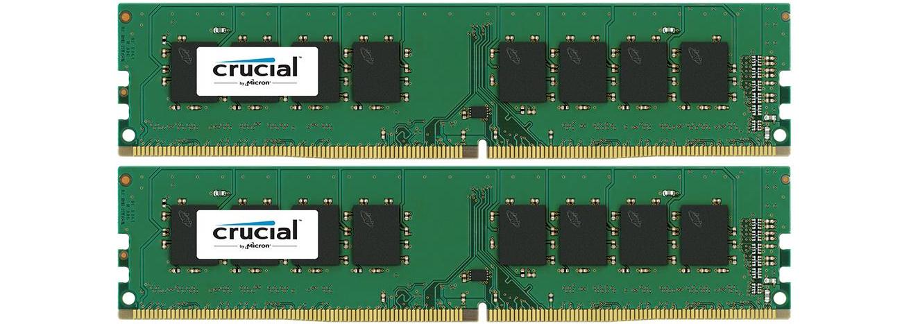 Pamięć RAM Crucial 8GB CL15 2 Kości