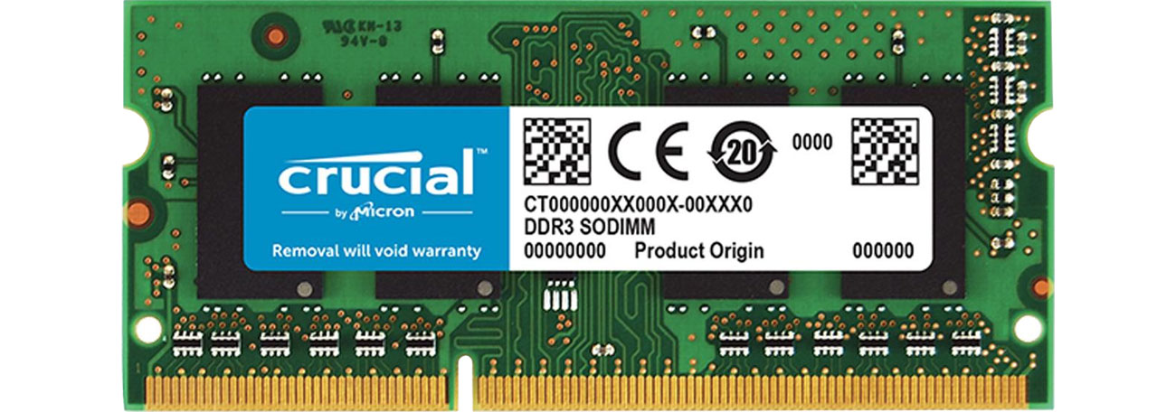 Pamięć RAM SODIMM DDR3 Crucial CT102464BF160B