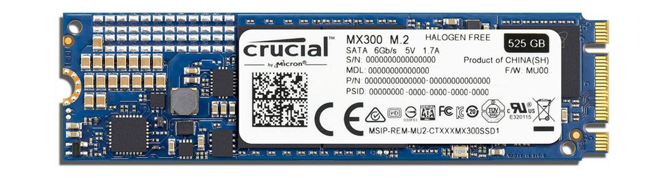 Dysk SSD Crucial 750GB 2,5'' MX300 - energooszczędność