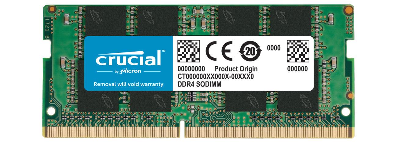 Pamięć RAM SODIMM DDR4 Crucial 8GB (1x8GB) 2666MHz CL19 CT8G4SFRA266