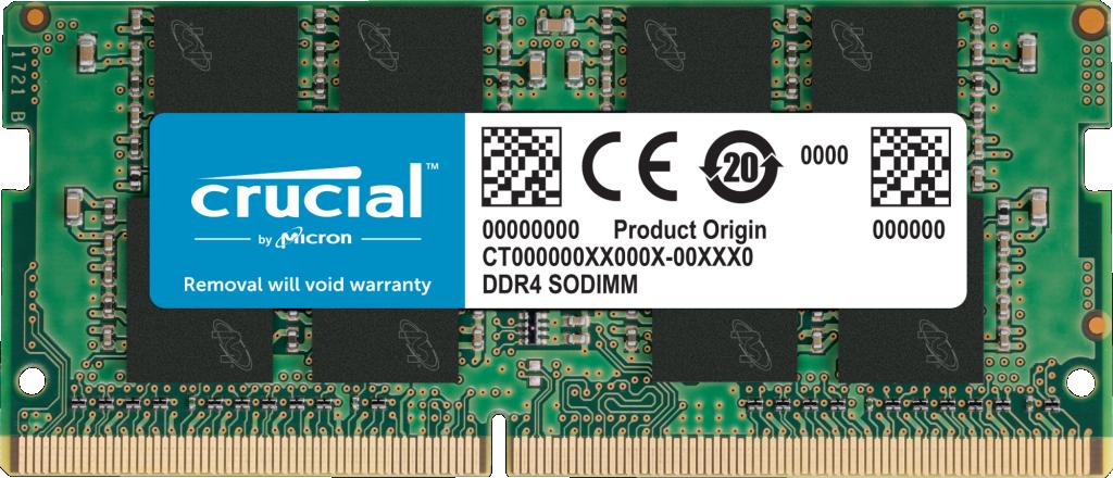 Pamięć RAM SODIMM DDR4 Crucial 8GB (1x8GB) 3200MHz CT8G4SFRA32A