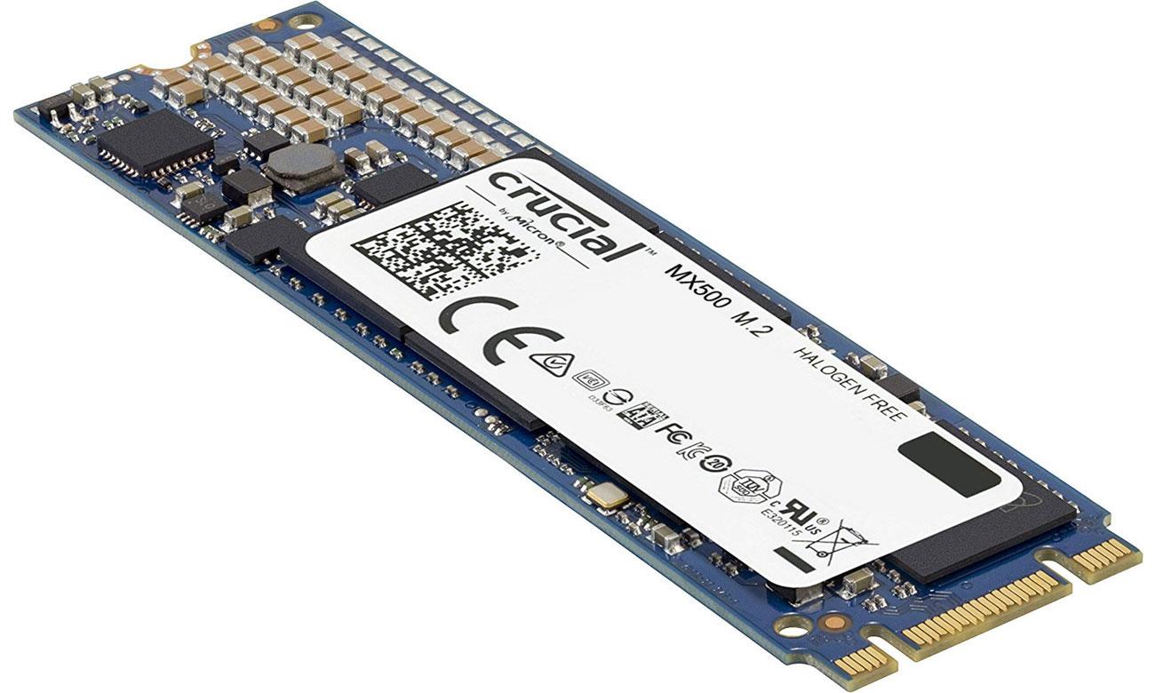 Dysk SSD Crucial MX500 bezpieczeństwo