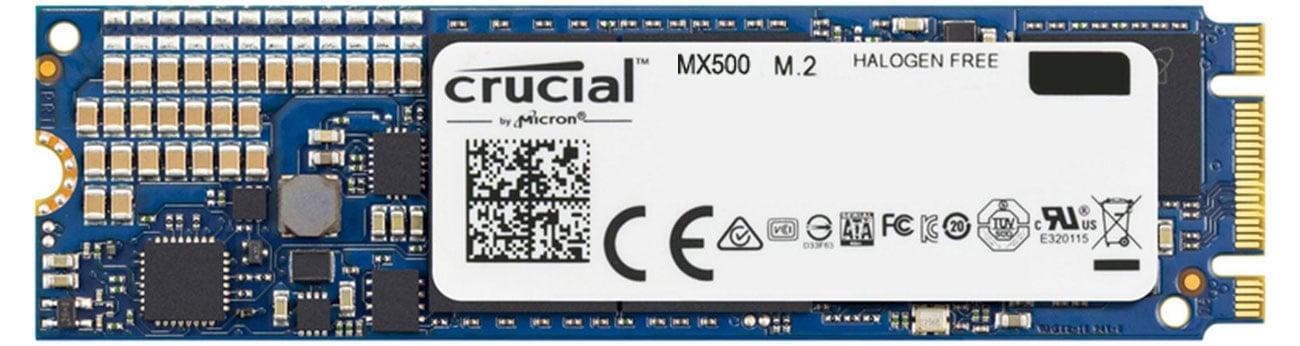 Crucial 500GB SATA SSD MX500 M.2