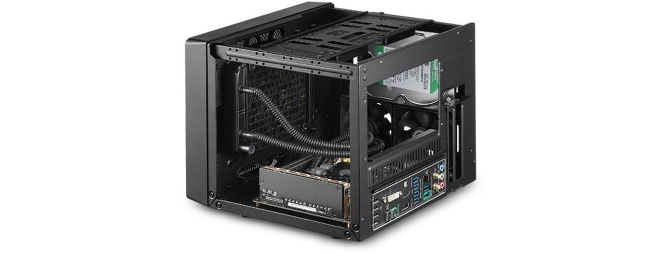 Obudowa Micro ATX/BTX Cooler Master ELITE 110 czarna USB 3.0 RC-110-KKN2