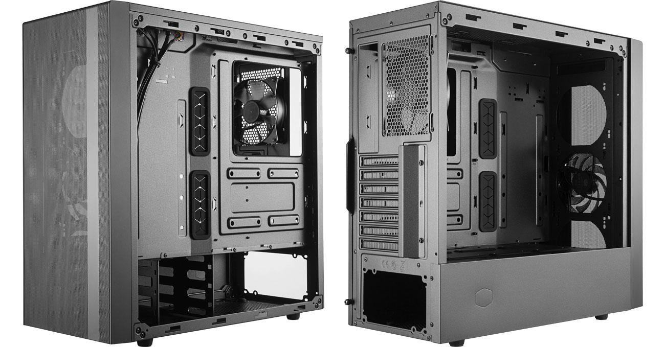 Cooler Master Masterbox NR600 (WO/ODD) - Wnętrze