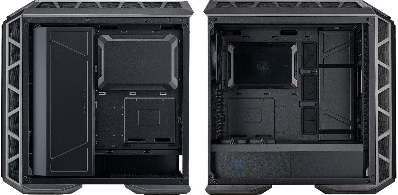 Cooler Master MASTER CASE H500P Wnętrze obudowy