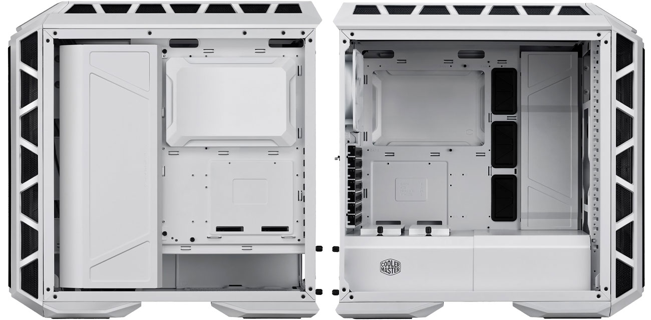 Cooler Master MASTERCASE H500P Wnętrze, aranżacja