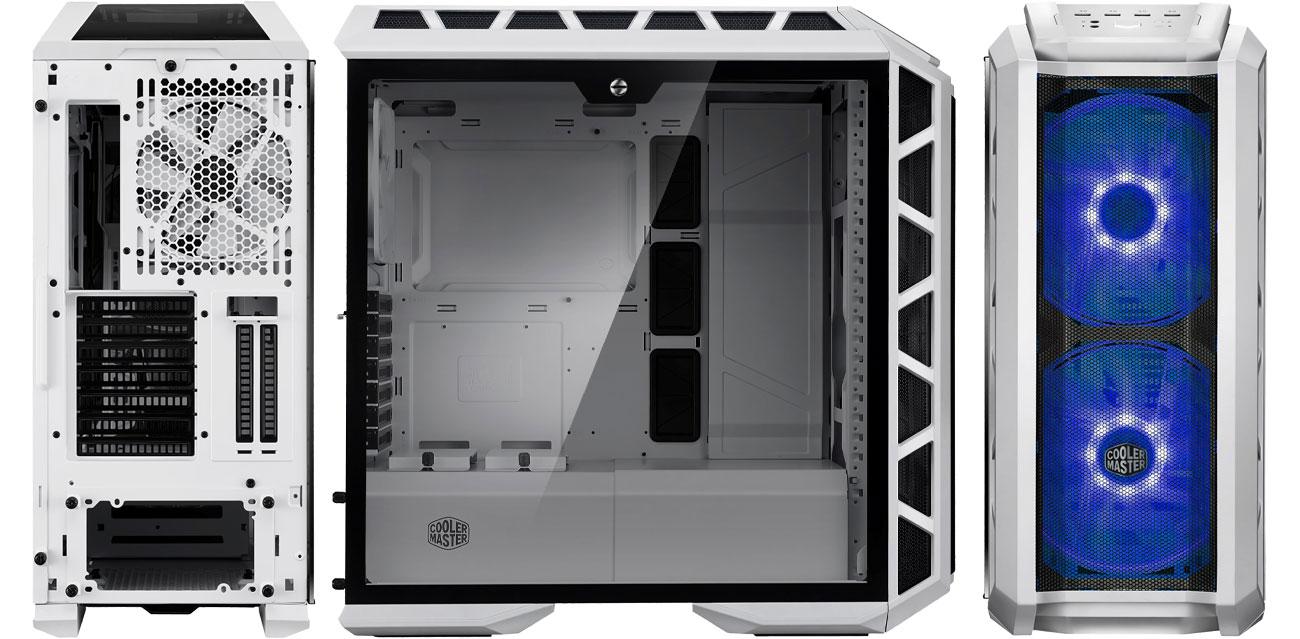 Cooler Master MASTERCASE H500P Chłodzenie, wentylatory RGB LED