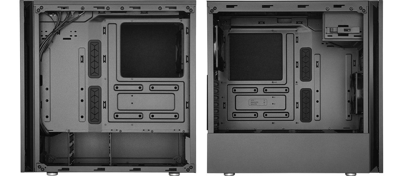 Cooler Master SILENCIO S600 - Wnętrze