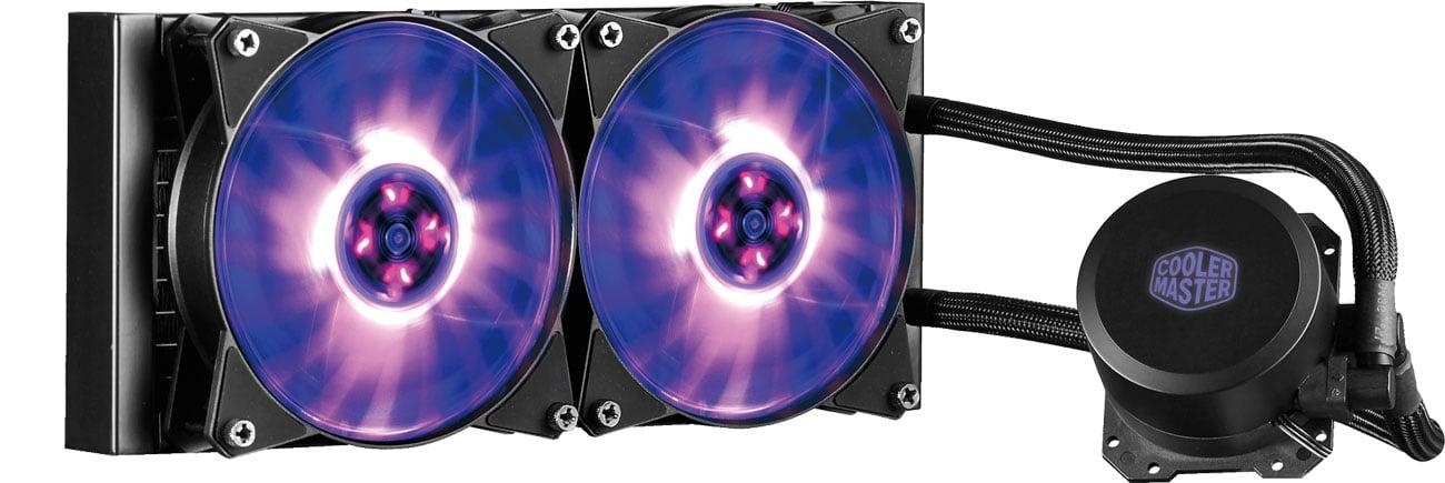 Cooler Master MasterLiquid ML240L Podświetlenie RGB