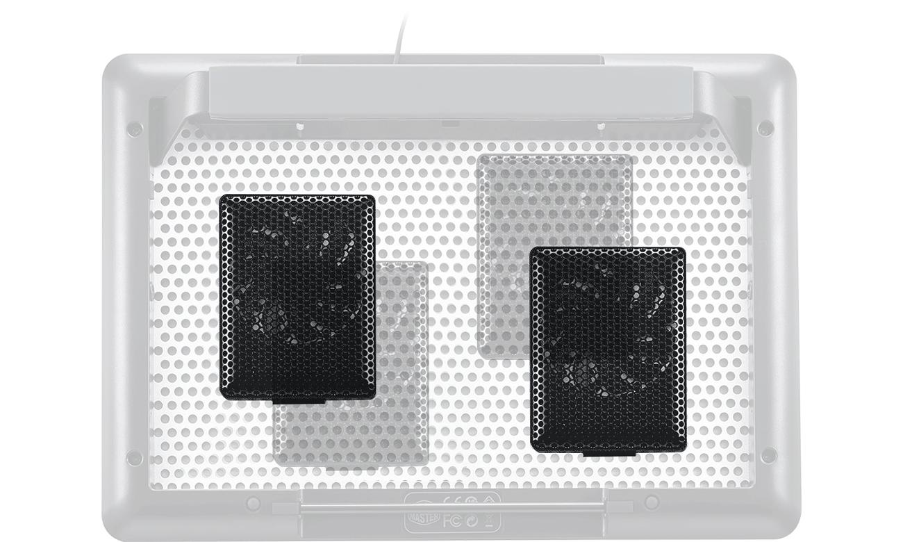 Cooler Master MasterNotepal modularne wentylatory