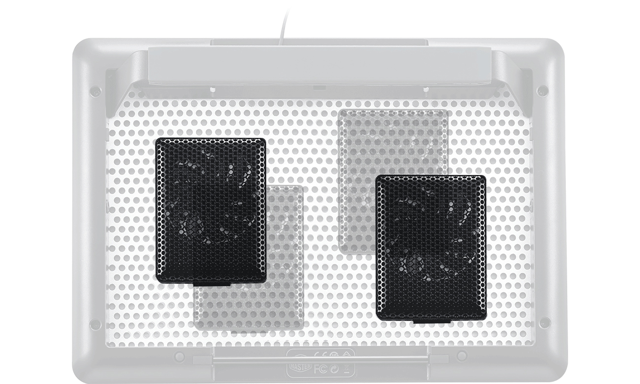 Cooler Master MasterNotepal PRO modularne wentylatory
