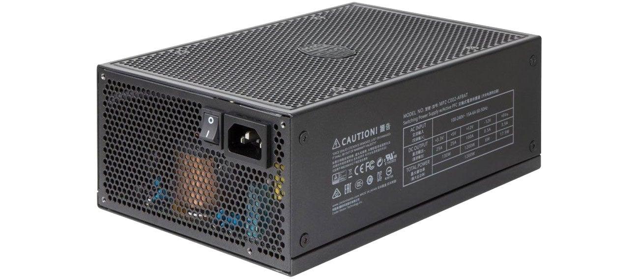 Zasilacz do komputera Cooler Master 1200W MasterWatt Maker MPZ-C001-AFBAT-E1