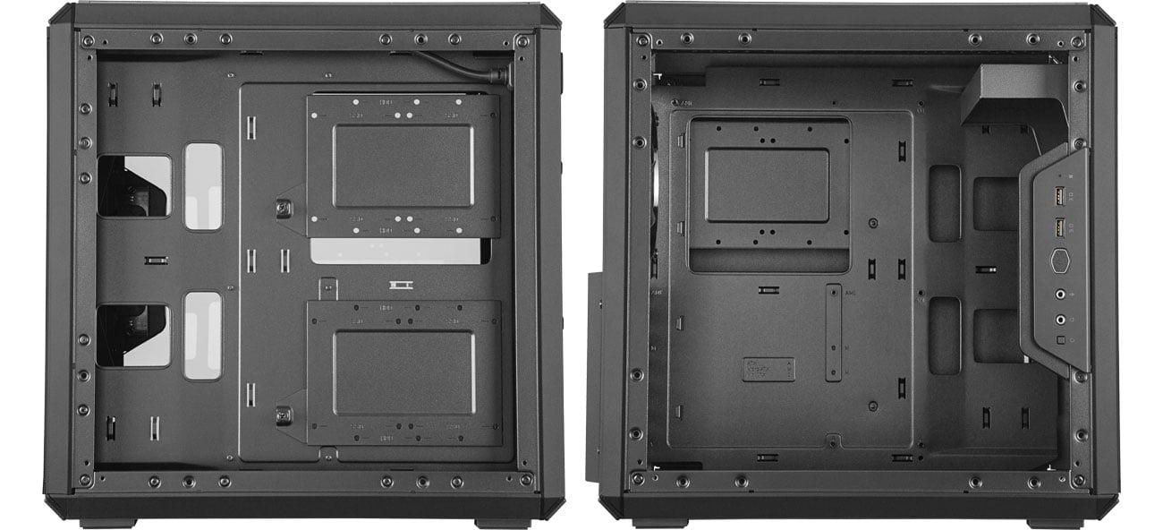 Cooler Master Masterbox Q500L - Wnętrze