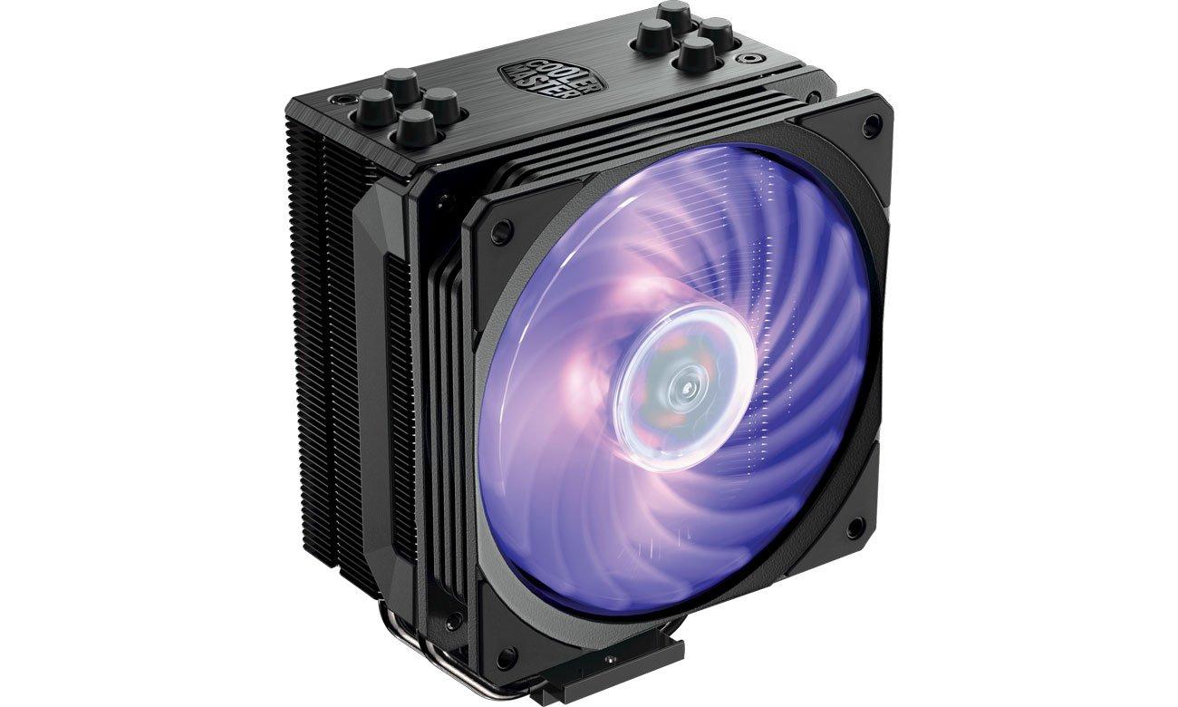 Chłodzenie procesora Cooler Master Hyper 212 Black RGB 120mm RR-212S-20PC-R1