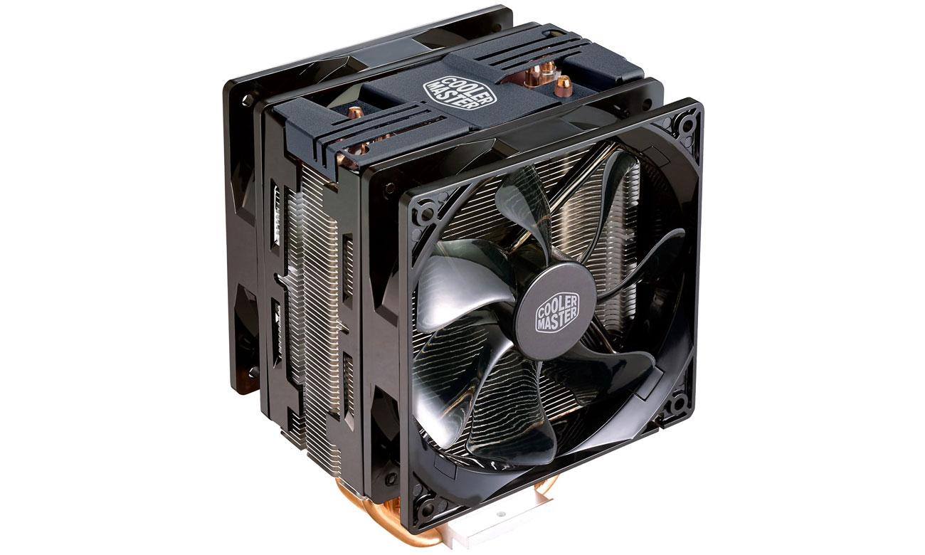 Chłodzenie procesora Cooler Master Hyper 212 LED Turbo czarny RR-212TK-16PR-R1