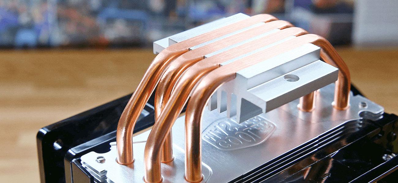 Cooler Master Hyper 212 LED Turbo Miedziane ciepłowody