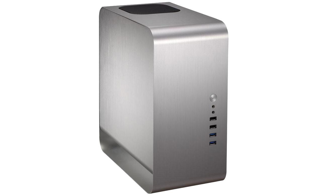 Obudowa do komputera Cooltek UMX1 Plus srebrna 600046820