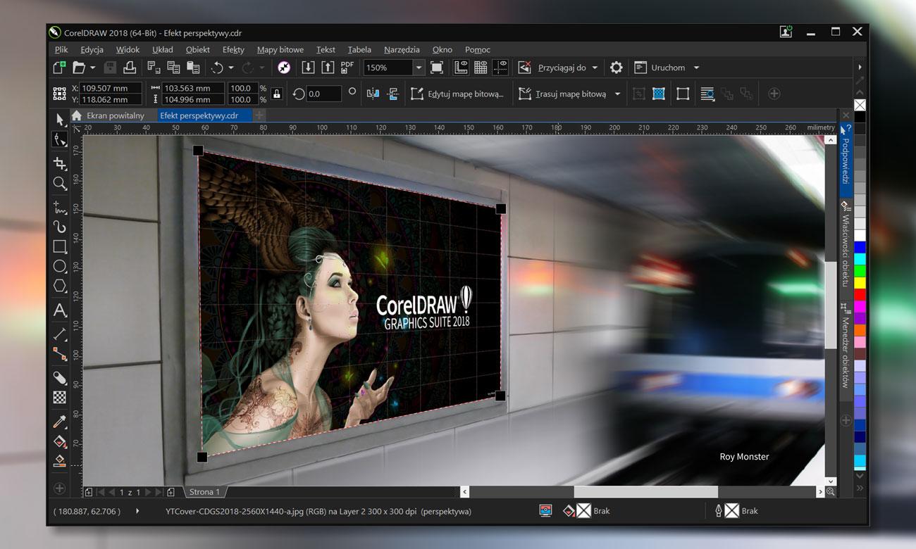 CorelDRAW Graphics Suite 2018 Small Business Innowacyjność