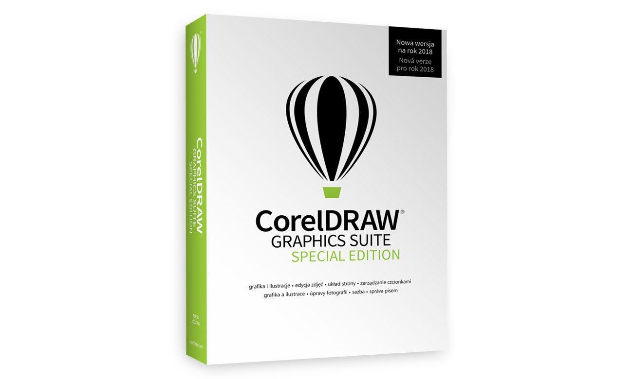 CorelDRAW Graphics Suite SE Wszechstronne oprogramowanie do projektowania graficznego