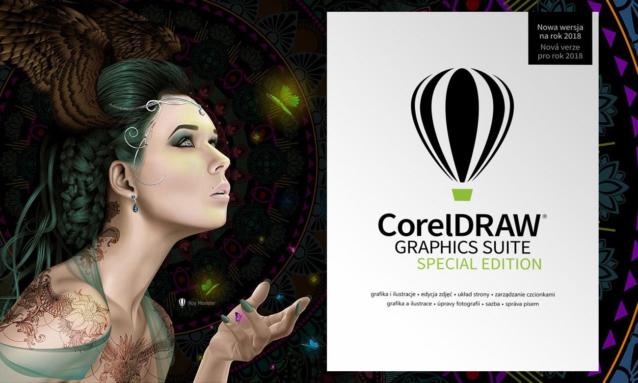 CorelDRAW Graphics Suite SE Najważniejsze funkcje