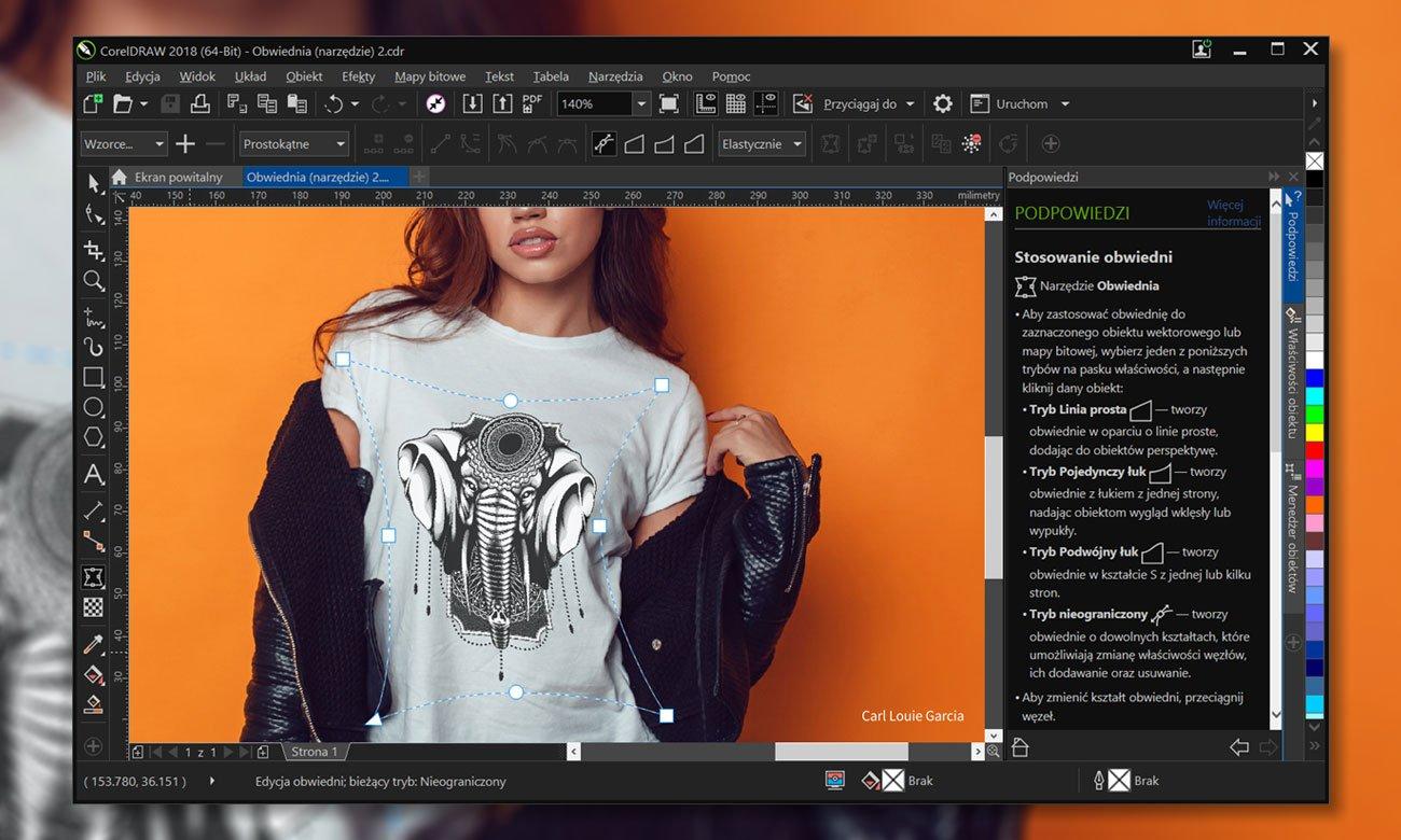 CorelDRAW Graphics Suite 2018 Wszechstronność