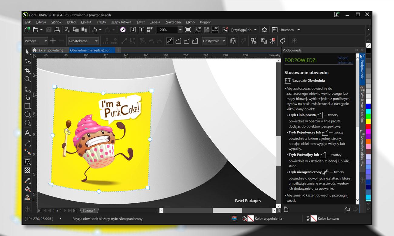 CorelDRAW Graphics Suite 2018 Łatwość obsługi
