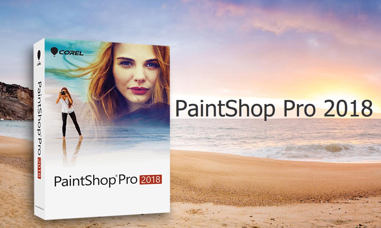 Corel Paint Shop Pro 2018 Zaawansowane oprogramowanie do obróbki grafiki i zdjęcia